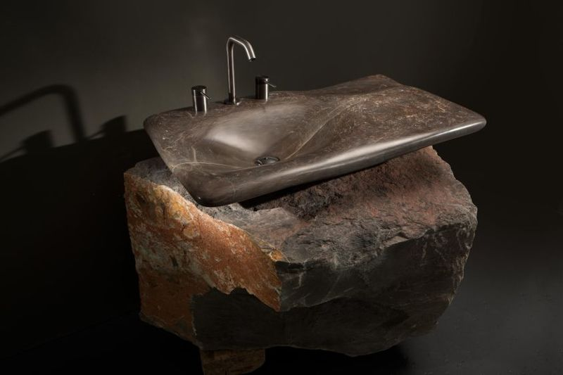 Carved Stone Sink Designs