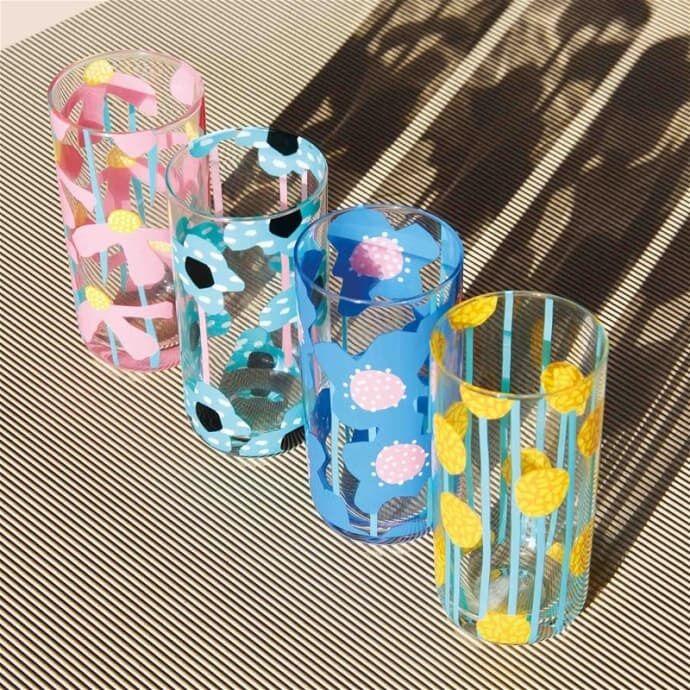 Artfully Printed Glassware