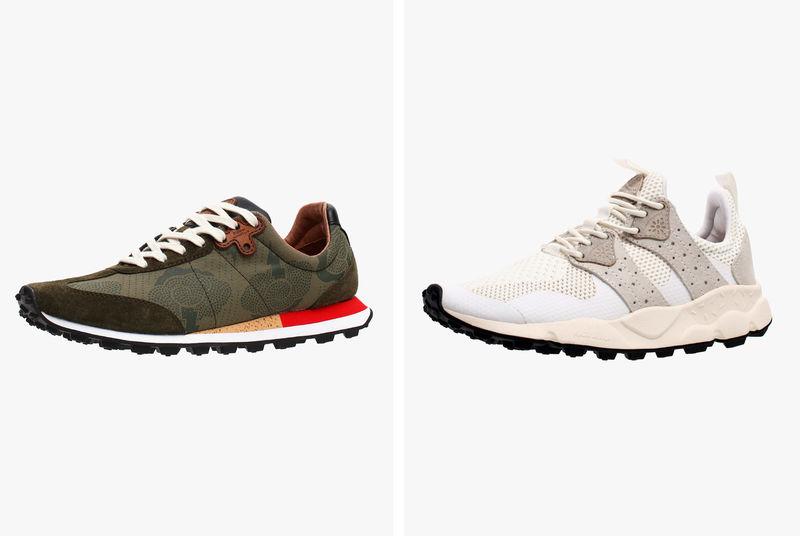 Vibrant Street Sneakers