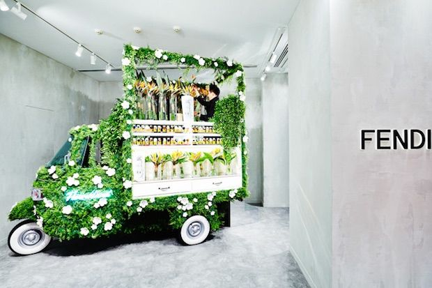In-Store Flower Trucks