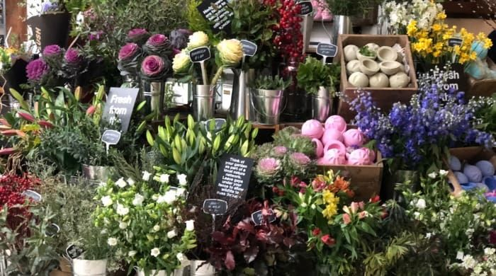 Cosmetic Brand Floral Shops