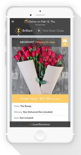 Smart Flower-Sending Apps