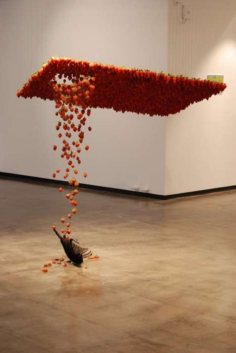 Rotting Strawberry Installations