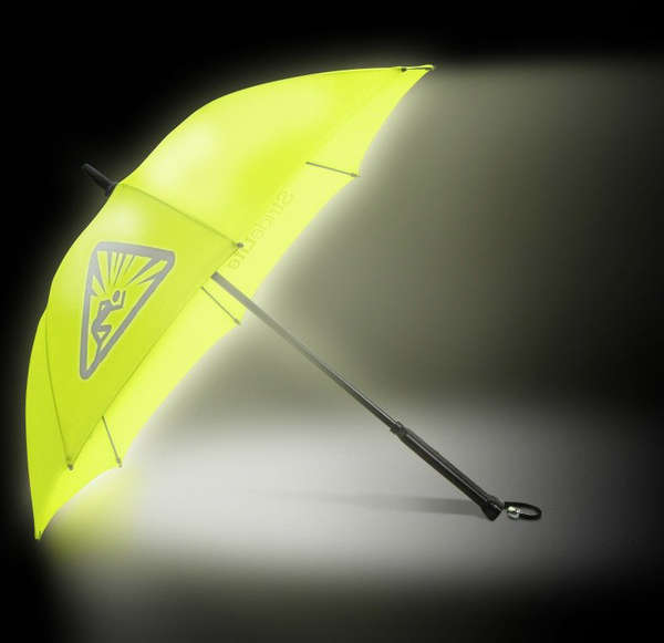 Fluorescent Rain Gear