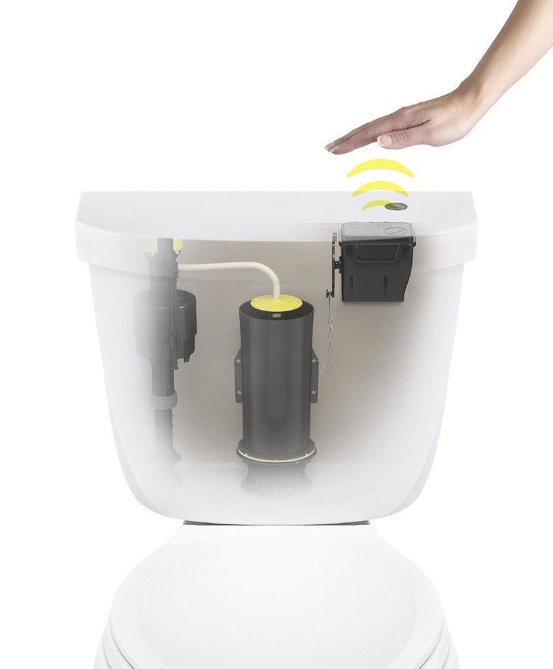 Touchless Toilet Flush Kits