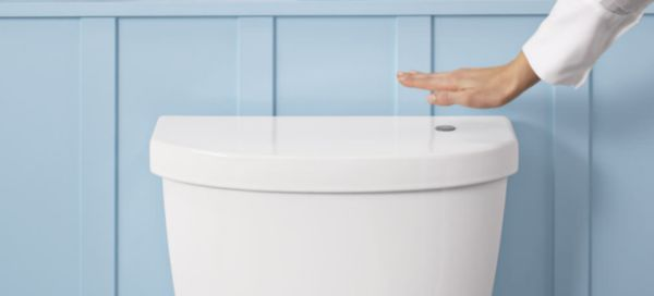 Touchless Flush Toilets