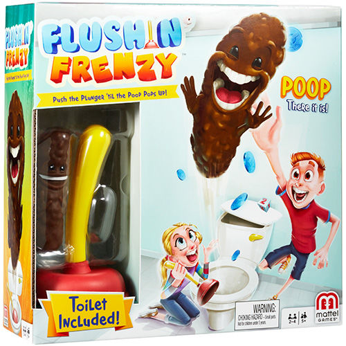 Toilet Humor Family Games