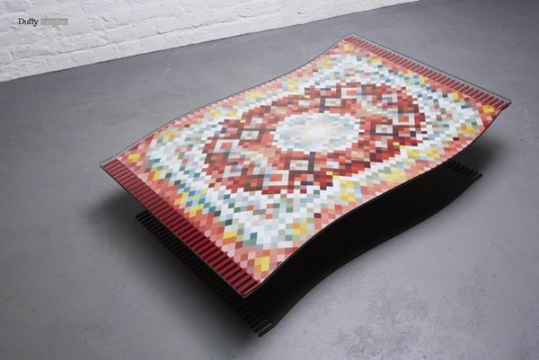 Magical Floating Coffee Tables Flying Carpet Coffee Table