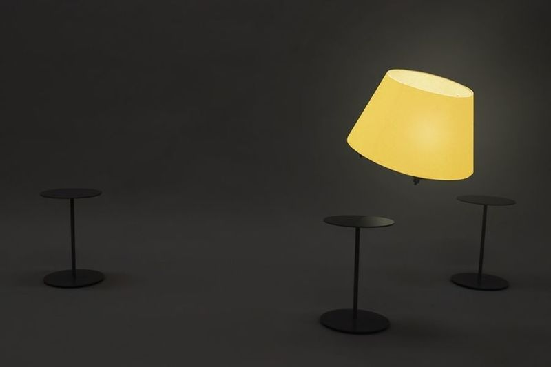 User-Following Drone Lamps