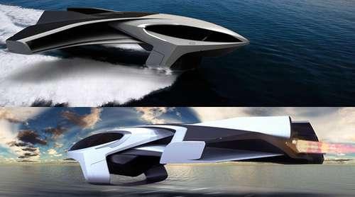 Levitating Ships