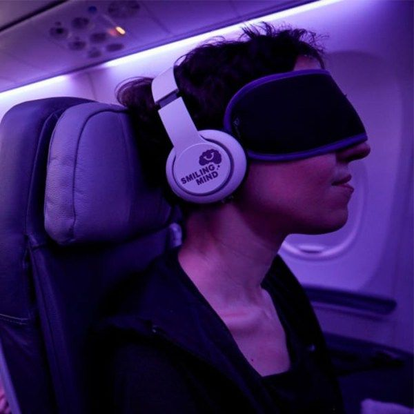 Meditation-Focused Flights