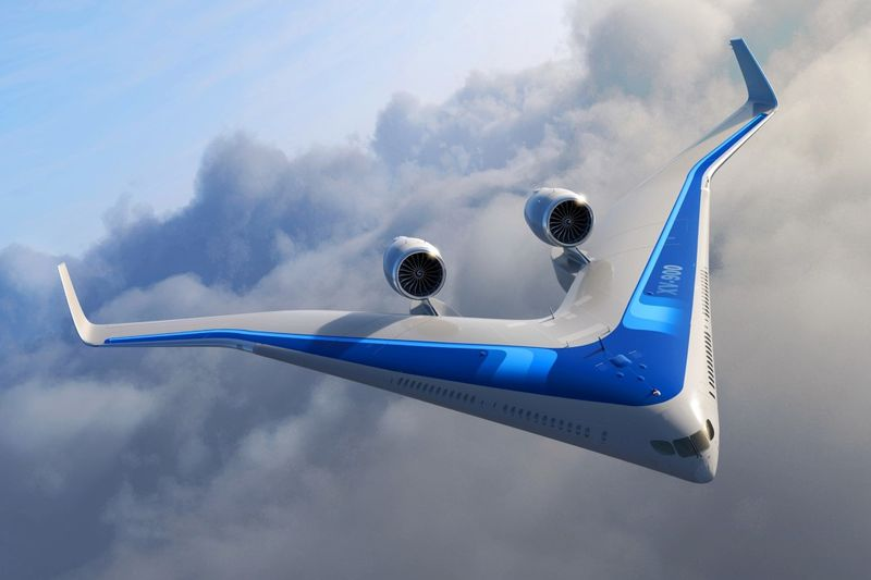 Efficient Single-Wing Airplanes