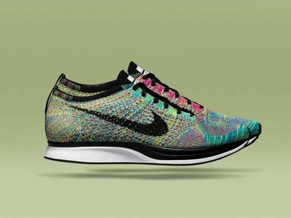 Rainbow-Colored Runners