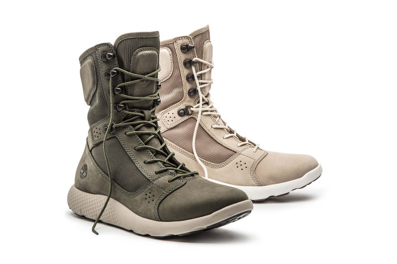 Sporty Technical Sneaker Boots Flyroam
