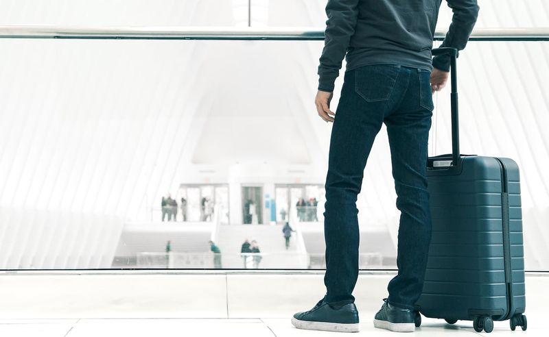 Ergonomic Travel-Friendly Jeans