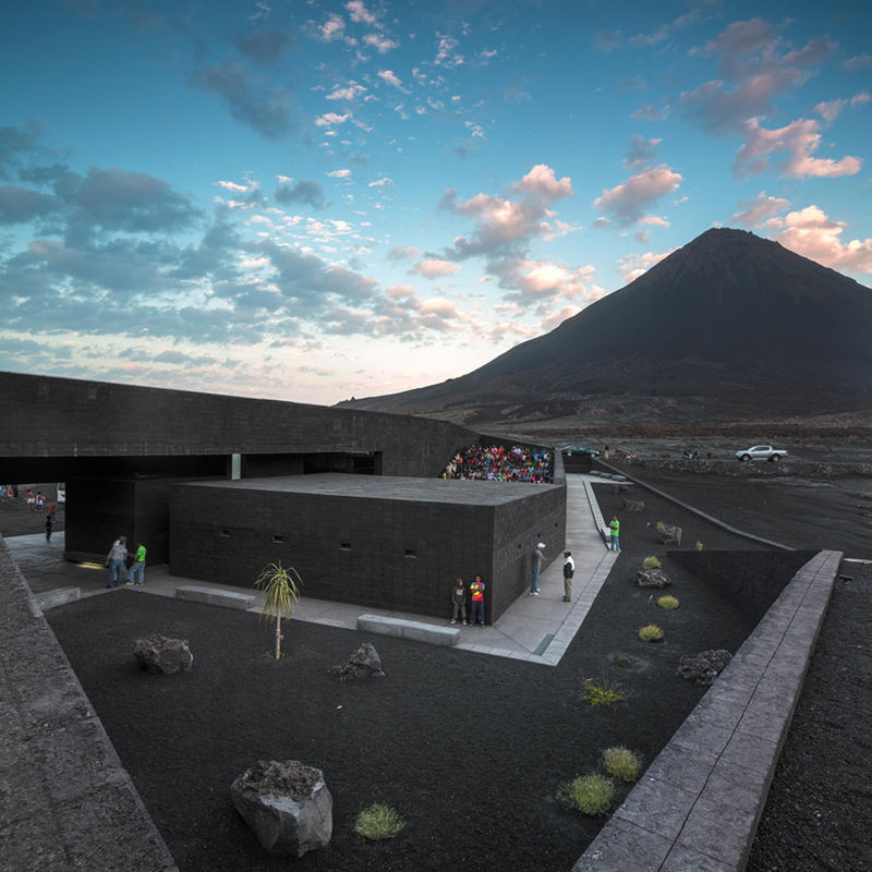 Volcanic-Blended Architecture