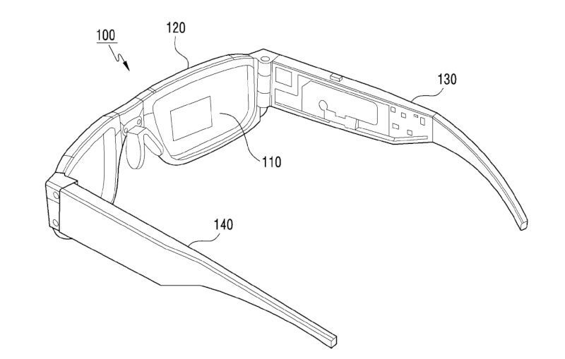 Foldable AR Glasses
