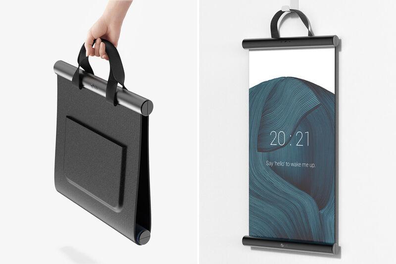 Malleable Bag-Like OLED Screens