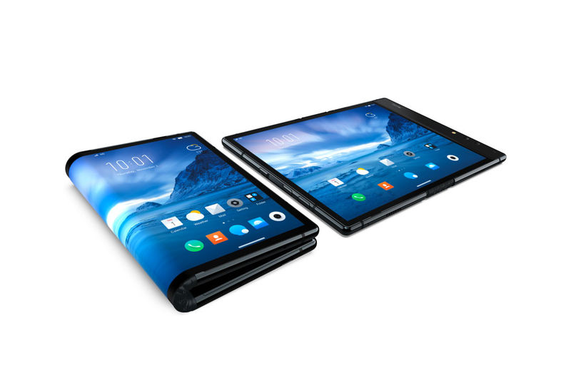 Multifunctional Foldable Tablet Designs