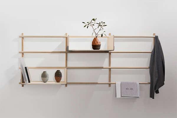 Floating Timber-Frame Ledges