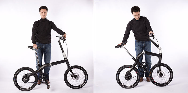 Single-Step Folding Bikes