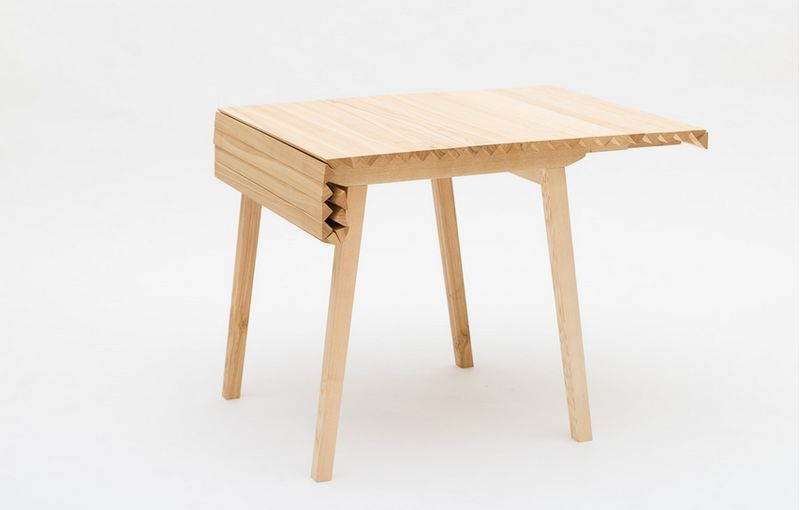 Draped Timber Tables