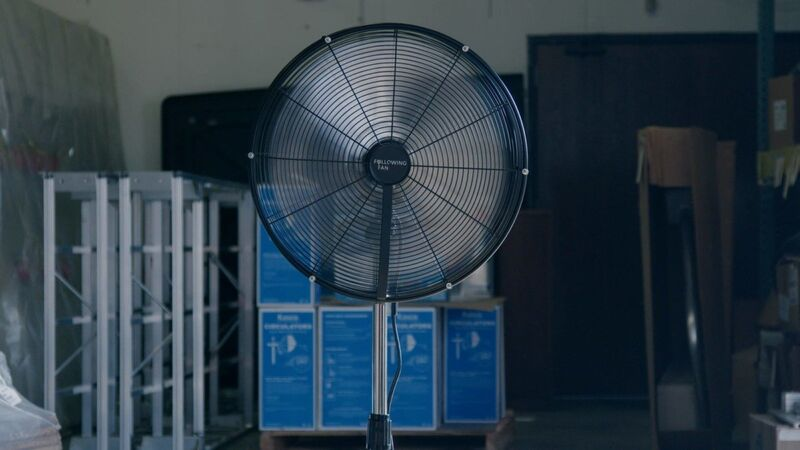 Person-Tracking Smart Fans