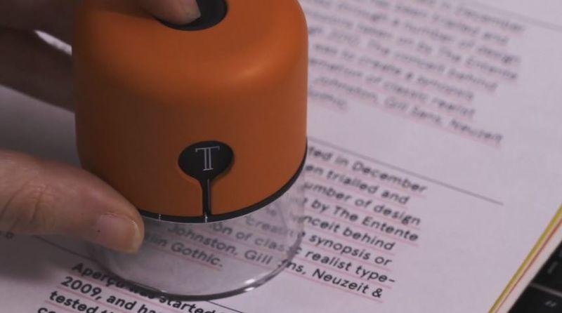 Handheld Typeface Translators