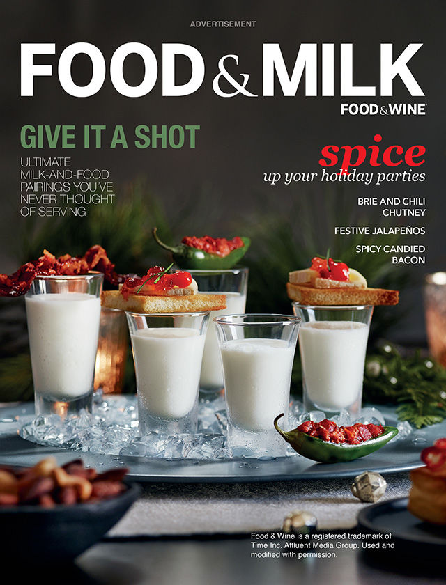 Dairy-Centric Magazine Campaigns