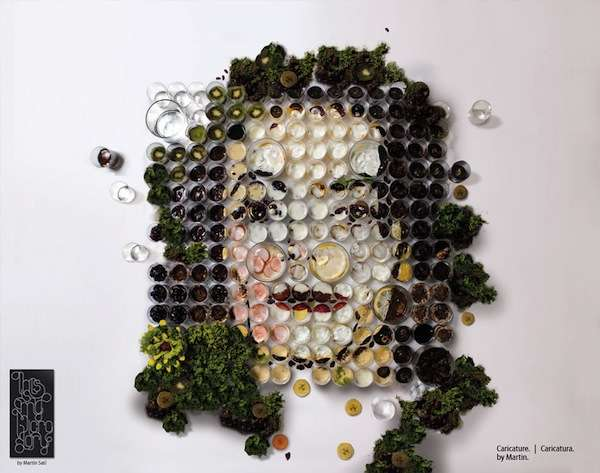 Organic Vegetable Art