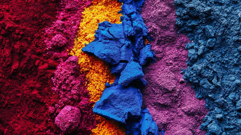 Naturally Vivid Dye Powders
