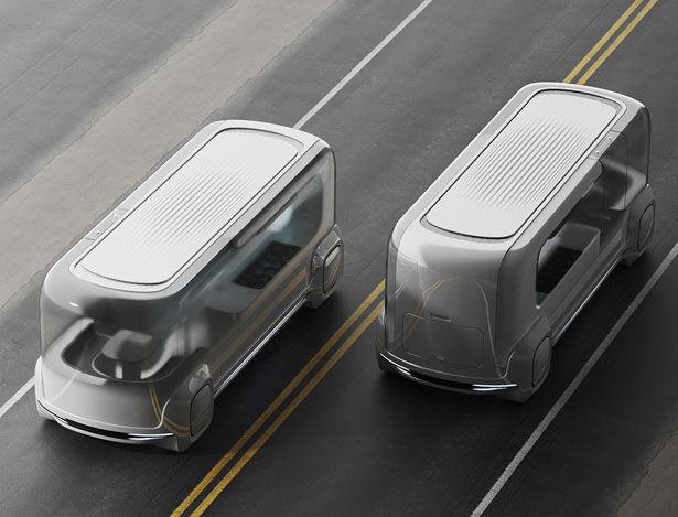Autonomous Food Delivery Vehicles