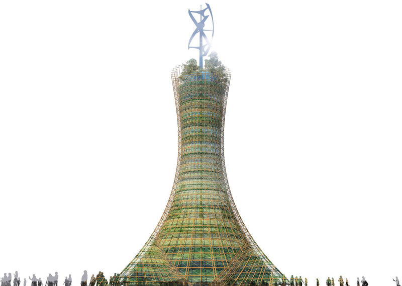 Hyperboloid Vertical Farms