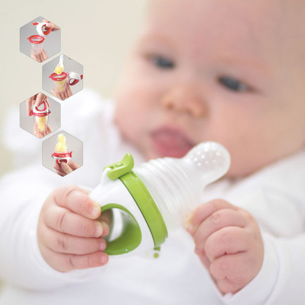 Soother-Like Baby Feeders
