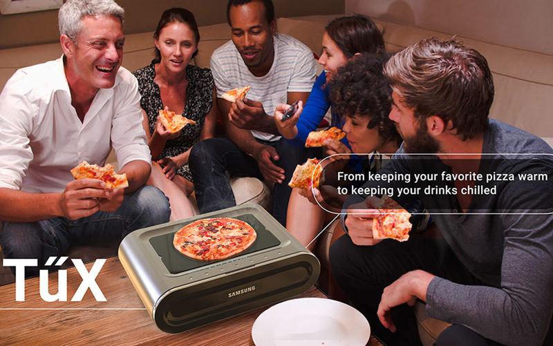 Space-Saving Hot Plate Fridges
