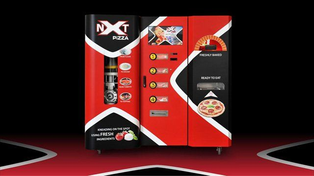 Customizable Pizza Kiosks