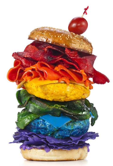 Kaleidoscopic Food Captures