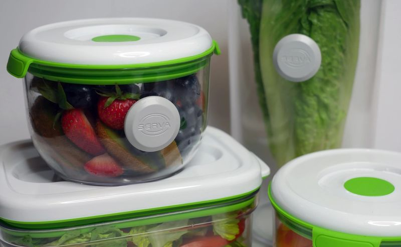 NFC-Enabled Food Containers