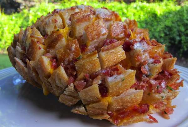 Pinecone-Mimicking Bread Feasts