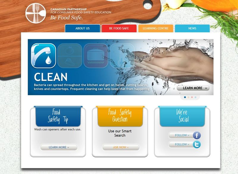Food Safety Websites