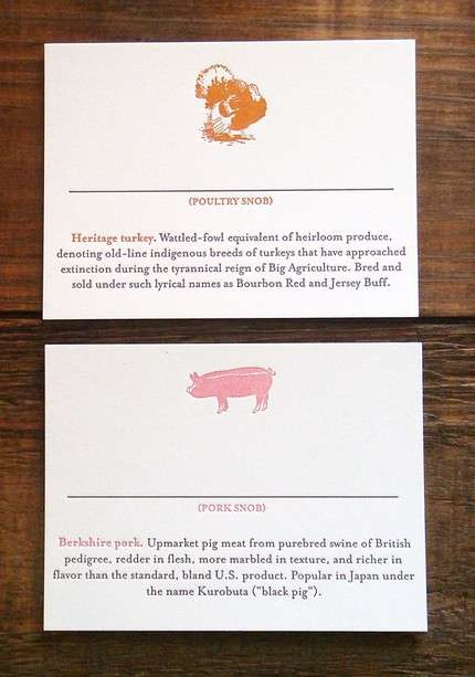 Creative Culinary Cards