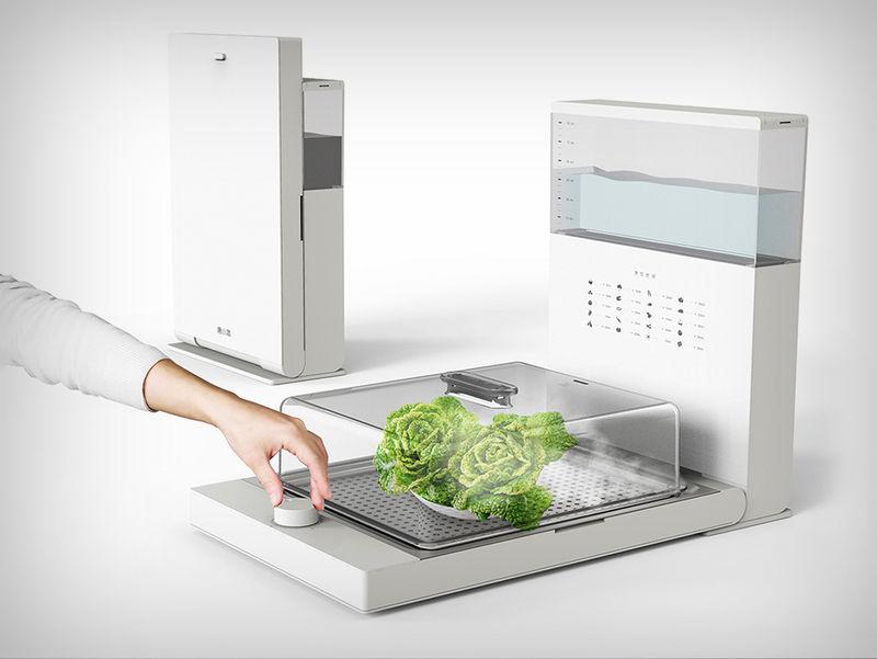 Space-Saving Food Steamers