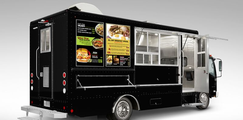 Digital Food Truck Displays