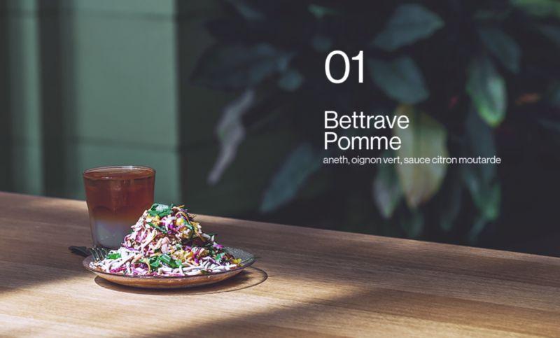 Minimalist Salad Bar Branding