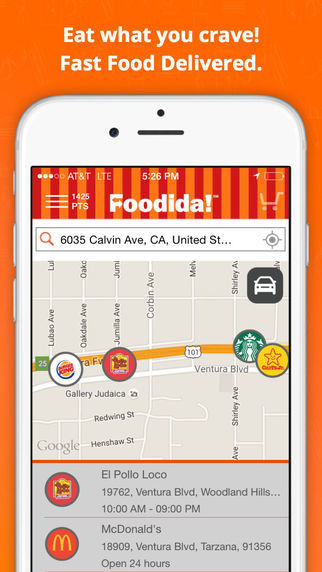 Crowdsourced Food Delivery Apps