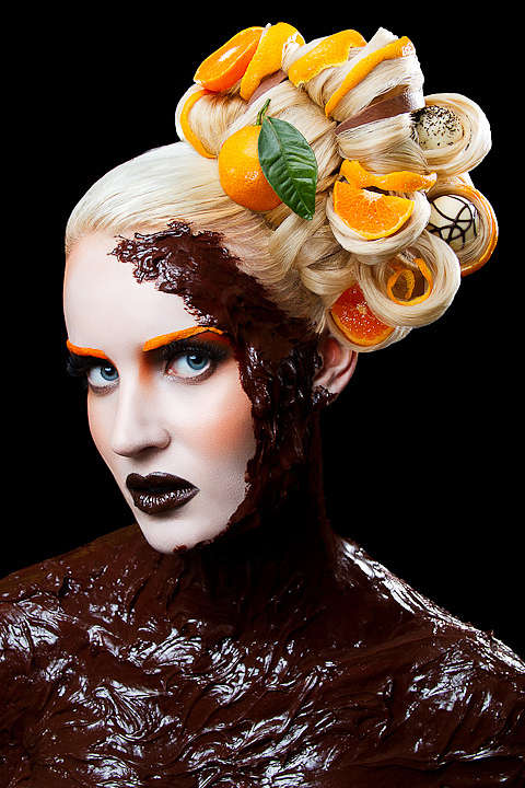 Food-Inspired Makeup Designs