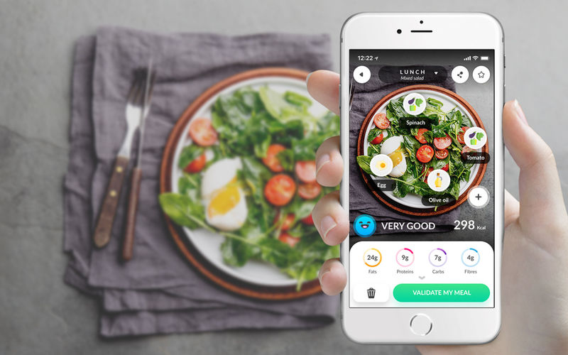 Nutrition Tracking Photo Apps