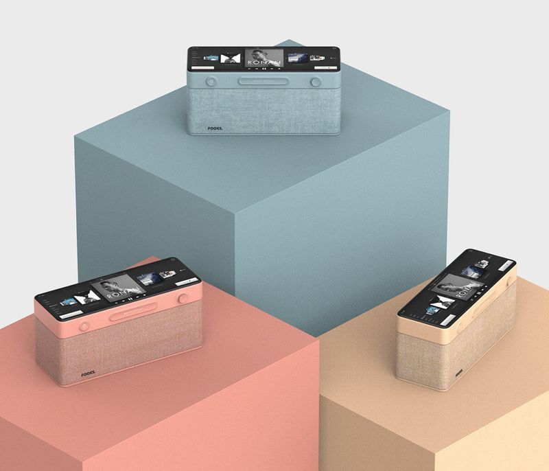 Advanced UI Smart Speakers