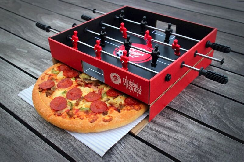 Foosball Pizza Boxes