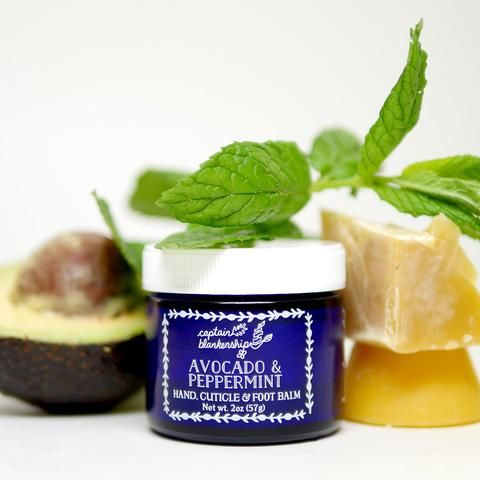Moisturizing Organic Foot Balms